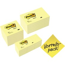 POST-IT Haftnotiz Promotion Sparset 654655P gelb 24 St./Pack.