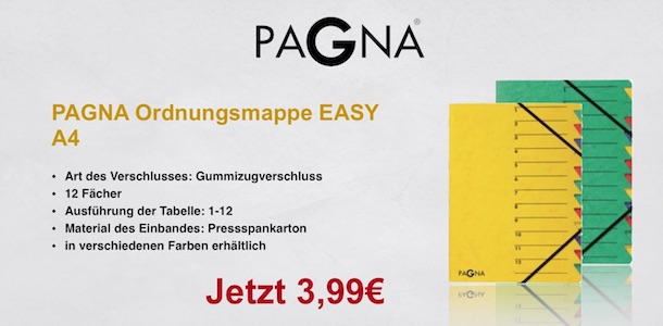 Pagna Ordnungsmappe Easy
